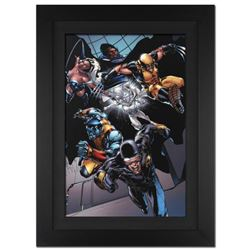 """X-Men vs. Agents of Atlas #1"" Extremely Limited Edition Giclee on Canvas (28"" x 39"") by Carlo Pagul"