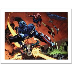 """New Avengers #59"" Limited Edition Giclee on Canvas by Stuart Immonen and Marvel Comics. Numbered an"