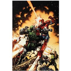 """Siege: The Cabal #1"" Limited Edition Giclee on Canvas by David Finch and Marvel Comics. Numbered wi"