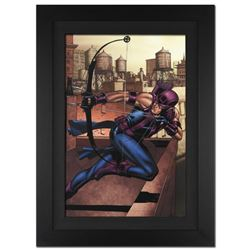 """Marvel Adventures Super Heroes #14"" Extremely Limited Edition Giclee on Canvas by David Williams an"