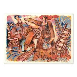 "Theo Tobiasse (1927-2012), ""Jour De Fete"" Limited Edition Lithograph, Numbered and Hand Signed with"