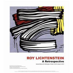 """Roy Lichtenstein """"Little Big Painting"""" Offset Lithograph"""