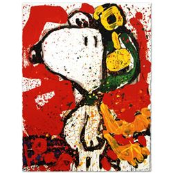 """""""To Remember"""" Limited Edition Hand Pulled Original Lithograph by Renowned Charles Schulz Protege, To"""