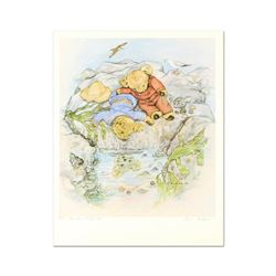 """Susan Anderson, """"The Rock Pool"""" Limited Edition Lithograph, Numbered and Hand Signed with Letter of"""