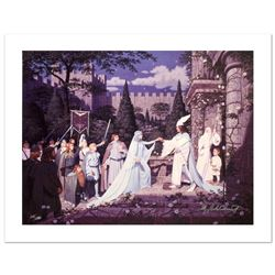 """""""The Wedding Of The King"""" Limited Edition Giclee on Canvas by The Brothers Hildebrandt. Numbered and"""