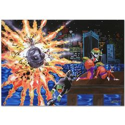 """""""Shaken Not Stirred"""" Limited Edition Giclee on Canvas (35"""" x 25"""") by Michael Godard, SN Numbered and"""