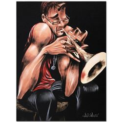 """Movin' Fingers"" Limited Edition Giclee on Canvas (27"" x 36"") by David Garibaldi, E Numbered and Sig"
