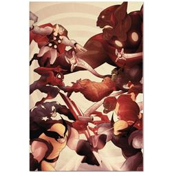 """Secret Invasion: Front Line #5"" Limited Edition Giclee on Canvas by Juan Doe and Marvel Comics, Num"