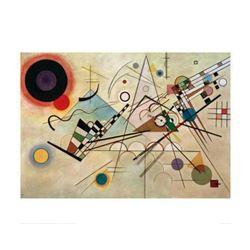 "Wassily Kandinsky ""Composition VIII, 1923"" Offset Lithograph"