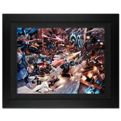 """X-Men vs. Agents of Atlas #2"" Limited Edition Giclee on Canvas (36"" x 29"") by Carlo Pagulayan and M"