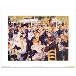 """Bal du Moulin de la Galette"" Fine Art Print by Renoir (1841-1919), Created with EncreLuxe Printing"