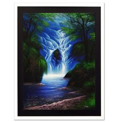 "Jon Rattenbury, ""The Wishing Falls"" Limited Edition Giclee on Canvas, Numbered and Hand Signed by th"