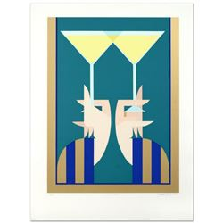 "Giancarlo Impigia, ""A Toast"" Limited Edition Serigraph, Numbered and Hand Signed."