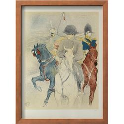 """Henri de Toulouse-Lautrec """"Napoleon"""" Lithograph"""