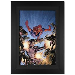 """Heroes For Hire #7"" Extremely Limited Edition Giclee on Canvas by David Yardin and Marvel Comics, N"