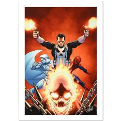 """Shadowland #3"" Limited Edition Giclee on Canvas by John Cassaday and Marvel Comics. Numbered and Ha"