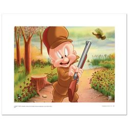 """""""Elmer Hunting"""" Limited Edition Giclee from Warner Bros., Numbered with Hologram Seal and Certificat"""