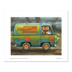 """""""Mystery Machine"""" Numbered Limited Edition Giclee from Hanna-Barbera with Certificate of Authenticit"""