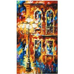 """Leonid Afremov """"Old Light"""" Limited Edition Giclee on Canvas, Numbered and Signed; Certificate of Aut"""