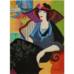 "Patricia Govezensky- Original Serigraph on Paper ""Marina Tel Aviv"""