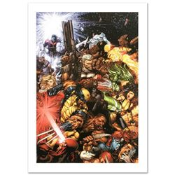 """""""X-Men #207"""" Limited Edition Giclee on Canvas by Chris Bachalo and Marvel Comics, Numbered and Hand"""