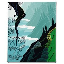 """""""Coastal Fir"""" Limited Edition Giclee on Canvas by Larissa Holt, Protege of Acclaimed Artist Eyvind E"""
