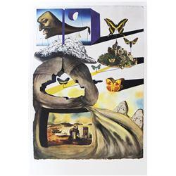 """Salvador Dali- Original Lithograph """"Normandie"""""""