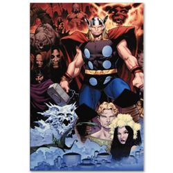 """Thor: Tales of Asgard by Stan Lee and Jack Kirby #1"" Limited Edition Giclee on Canvas by Oliver Coi"