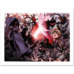 """Avengers: The Children's Crusade #4"" Limited Edition Giclee on Canvas by Jim Cheung and Marvel Comi"
