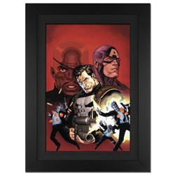"""Ultimate Avengers #1"" Extremely Limited Edition Giclee on Canvas by Leinil Francis Yu and Marvel Co"