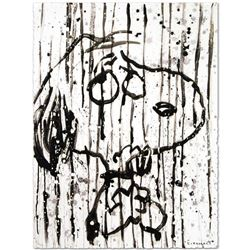 """Dancing In The Rain"" Limited Edition Hand Pulled Original Lithograph by Renowned Charles Schulz Pro"
