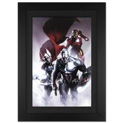 """Invasion #6"" Extremely Limited Edition Giclee on Canvas by Gabriele Dell'Otto and Marvel Comics. Nu"