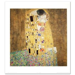"""The Kiss"" Fine Art Print by Gustav Klimt (1862-1918), Created with EncreLuxe Printing Process Which"
