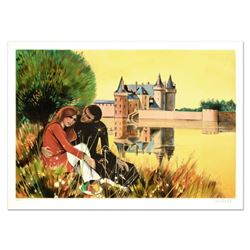 "Robert Vernet Bonfort, ""The Couple"" Limited Edition Lithograph, Numbered and Hand Signed."