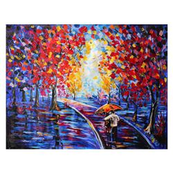 "Svyatoslav Shyrochuk - ""Couples in the Park"" Limited Edition on Gallery Wrapped Canvas, Numbered and"
