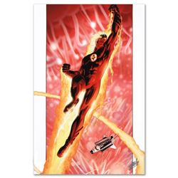 """Ultimate Fantastic Four #16"" Limited Edition Giclee on Canvas by Adam Kubert and Marvel Comics. Num"