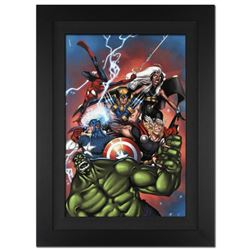 """Marvel Adventures: The Avengers #36"" Extremely Limited Edition Giclee on Canvas by Ig Guara and Mar"