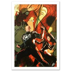 """Secret Avengers #6"" Limited Edition Giclee on Canvas by Marko Djurdjevic and Marvel Comics. Numbere"
