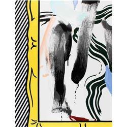 """Roy Lichtenstein """"Brushstrokes"""" Lithograph"""