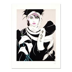 "Steve Leal, ""Singapore Lady I"" Limited Edition Serigraph, Numbered and Hand Signed with Letter of Au"