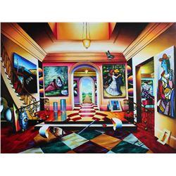 "Ferjo ""Serenity and Joyful Dance"" Giclee on Canvas"
