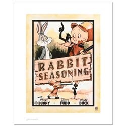 """Rabbit Seasoning"" Limited Edition Giclee from Warner Bros., Numbered with Hologram Seal and Certifi"
