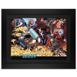 """Avengers #12"" Extremely Limited Edition Giclee on Canvas (34"" x 25"") by Matthew Clark and Marvel Co"