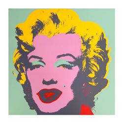 "Andy Warhol ""Marilyn 11.23"" Silk Screen Print from Sunday B Morning."