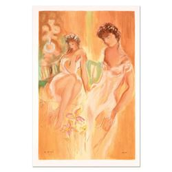 "Batia Magal - ""Sister"" Limited Edition Serigraph, Numbered and Hand Signed with Certificate of Authe"
