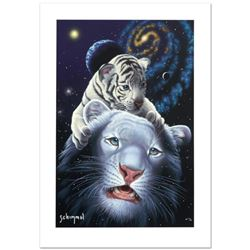 """White Tiger Magic"" Limited Edition Giclee by William Schimmel, Numbered and Hand Signed, with Certi"