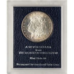 1882-S $1 Morgan Silver Dollar Coin Redfield Collection Mint State 60