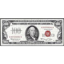 1966 $100 Legal Tender Note