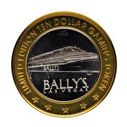 .999 Fine Silver Bally's Las Vegas, Nevada $10 Limited Edition Gaming Token