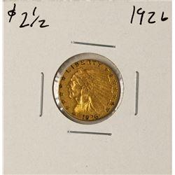 1926 $2 1/2 Liberty Head Quarter Eagle Gold Coin